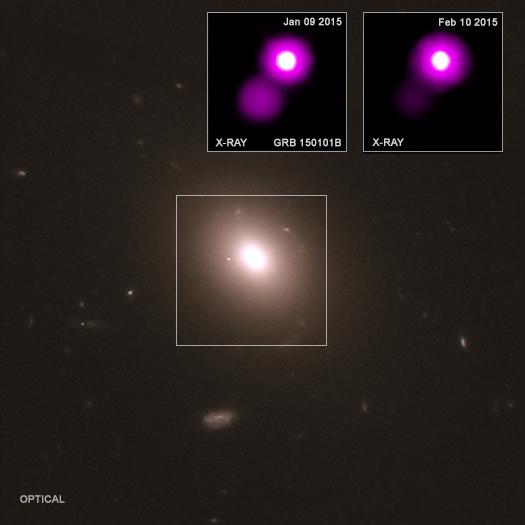 """Astrônomos detetam """"parente cósmico"""" de ondas gravitacionais"""