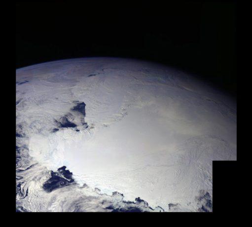 Continentes perdidos são descobertos sob a Antártica