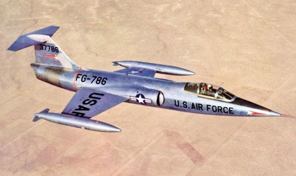 Piloto de F-104 revela seu contato com OVNI sobre a Alemanha 2