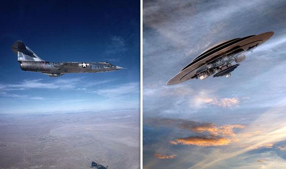 Piloto de F-104 revela seu contato com OVNI