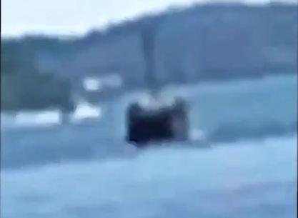 Objeto Submerso Não Identificado é filmado na costa da Suécia