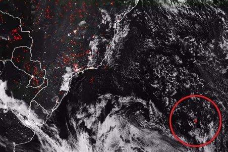 anomalia no Atlântico: Há algo dentro da água?