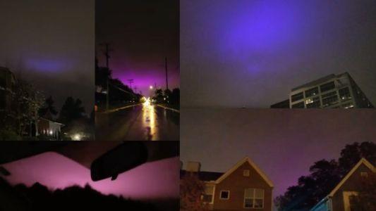 Luzes roxas continuam a aparecer nos céus dos Estados Unidos