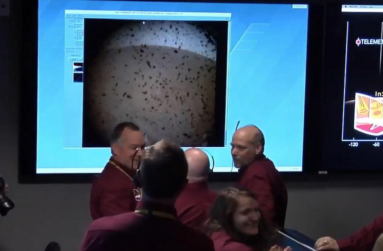 Sonda InSight pousa na superfície de Marte com sucesso