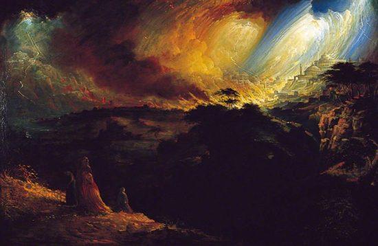 Uma explosão no céu pode ter aniquilado comunidades antigas do Mar Morto Sodoma e Gomorra