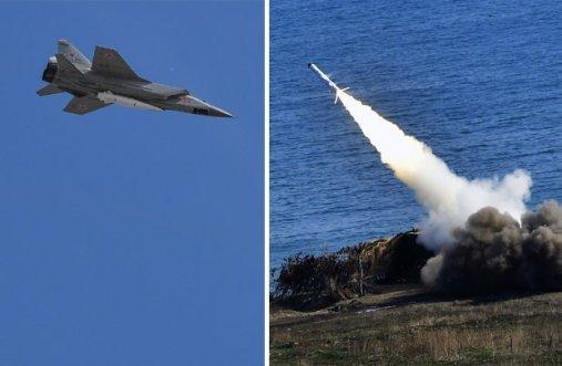 Tensões aumentam: Rússia dispara mísseis da Crimeia mostrando sua força à Ucrânia