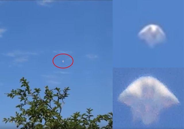 OVNI com formato orgânico é filmado no céu de Mairiporã