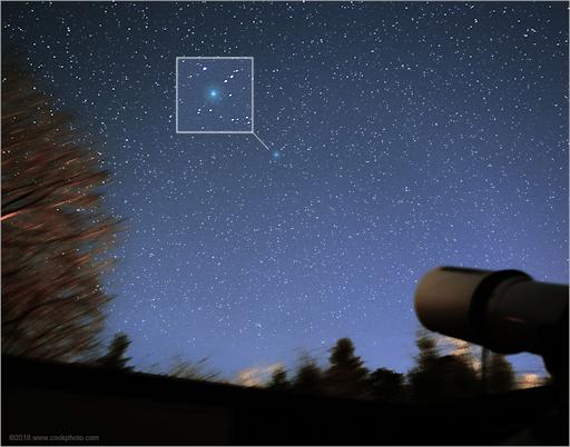 Cometa ainda não se aproximou da Terra e já está tão grande quanto a Lua 2