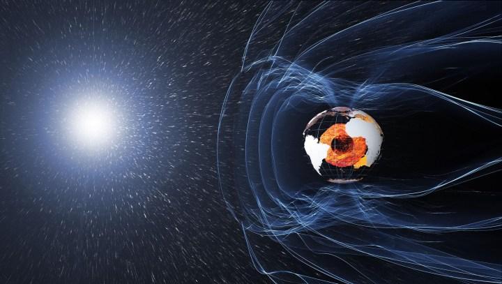 quando os polos magnéticos da Terra inverterem