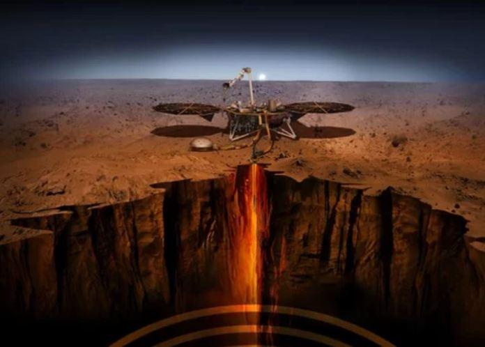 Vida em Marte pode estar logo abaixo do solo
