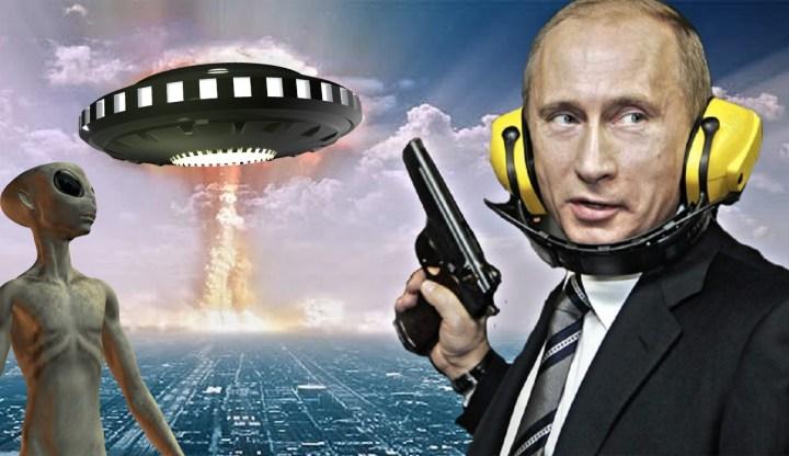 Rússia tem armamento para combater extraterrestres