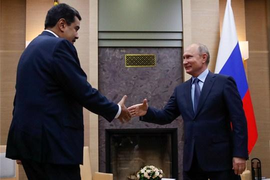 Mercenários russos são enviados à Venezuela
