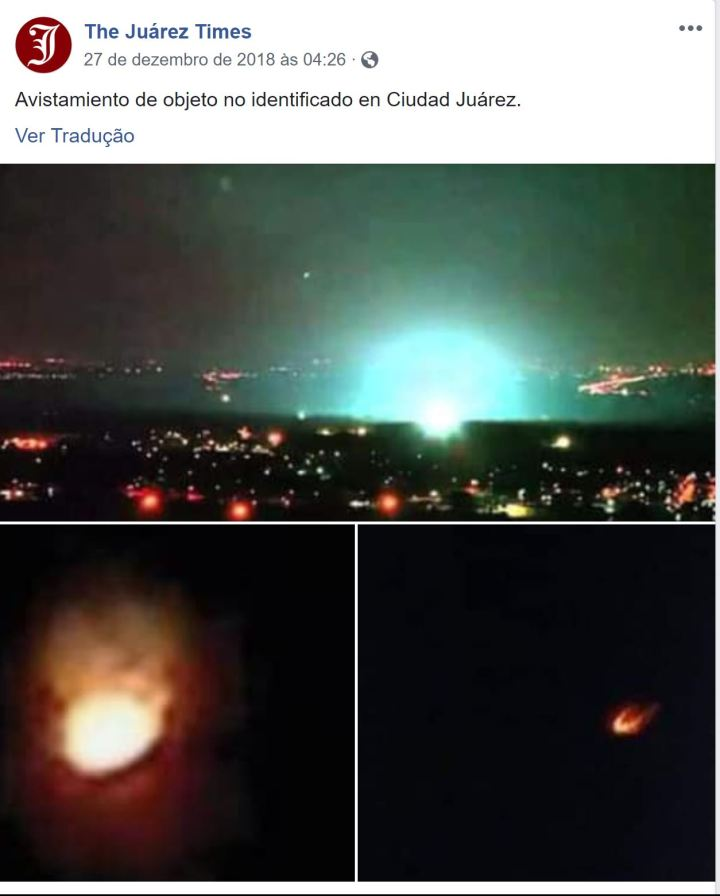 É um fenômeno generalizado: mais misteriosos eventos elétricos ocorrem no céu sobre Dublin, Irlanda e incríveis explosões em Kenner, Louisiana - EUA e Ciudad Juarez, México 1