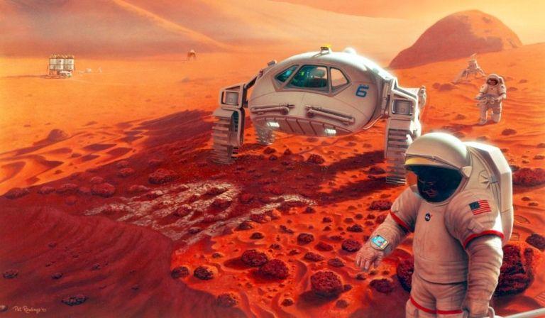 Trump prometeu dinheiro ilimitado para NASA completar a missão tripulada a Marte até 2020 Col%C3%B3nia_marte_01