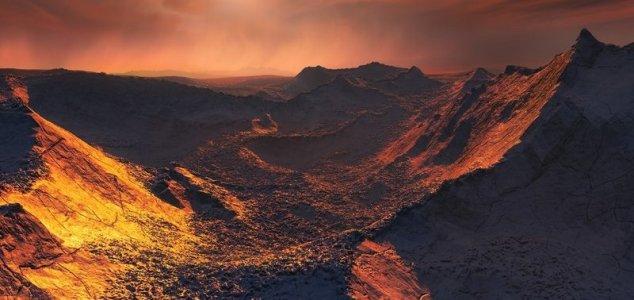 Poderia haver vida no planeta Barnard b