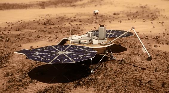 """experimentar"" a água de Marte"