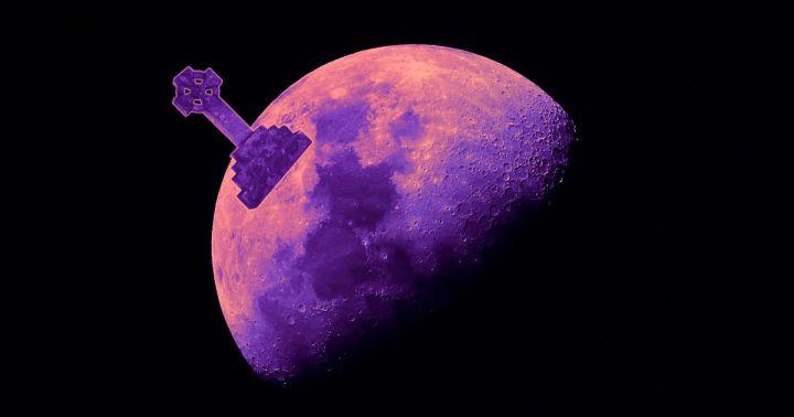 Morre na Lua broto de planta