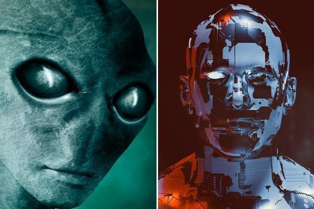 Alienígenas podem ser ciborgues