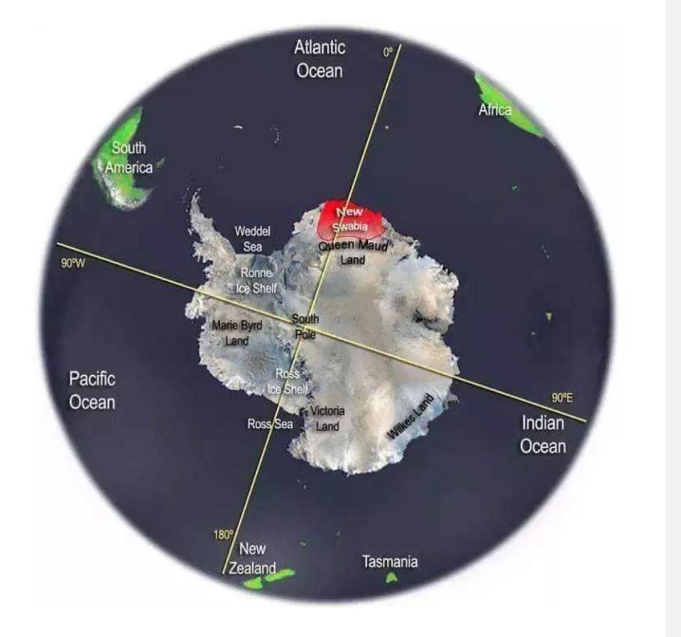 Teriam os nazistas vencido a batalha da Antártica, após a Segunda Guerra Mundial? 1