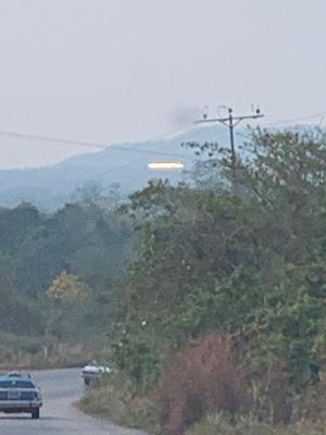 OVNI aparece durante apagão na Venezuela 1