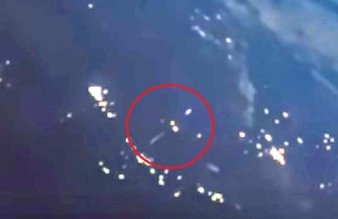 Lançamento de foguete é filmado da Estação Espacial Internacional