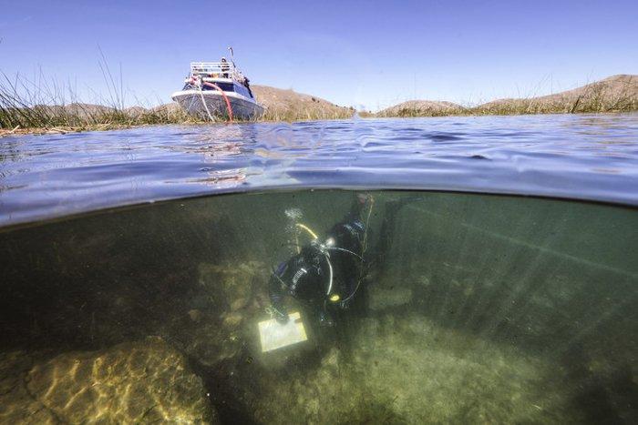 Uma religião misteriosa pré-datou os Incas por 500 anos, revela uma impressionante descoberta em lago 1