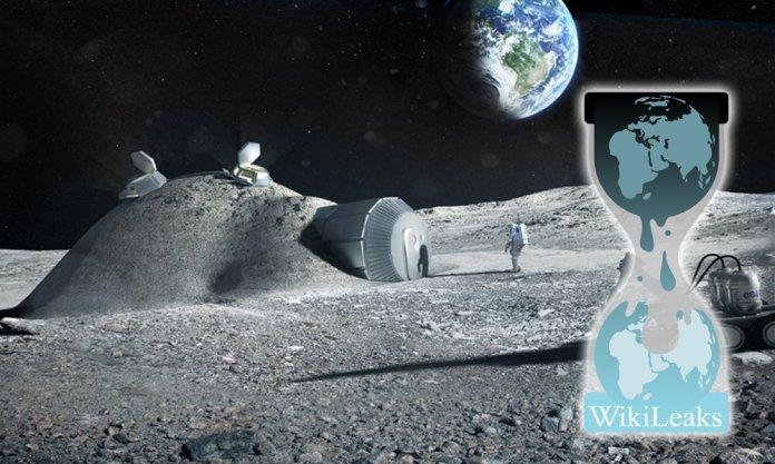 Documento Wikileaks expõe base lunar secreta dos EUA que foi destruída