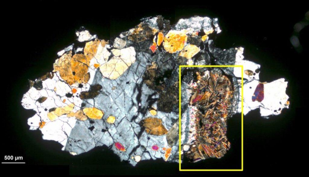 Outro meteorito de Marte mostra sinais de vida