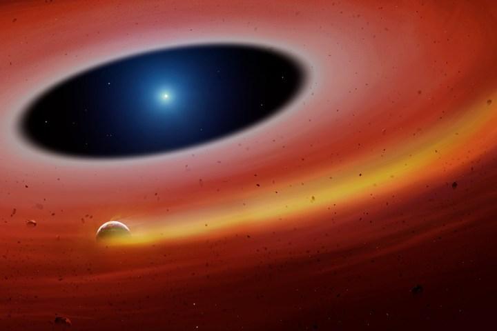 Astrônomos encontram núcleo de planeta destruído