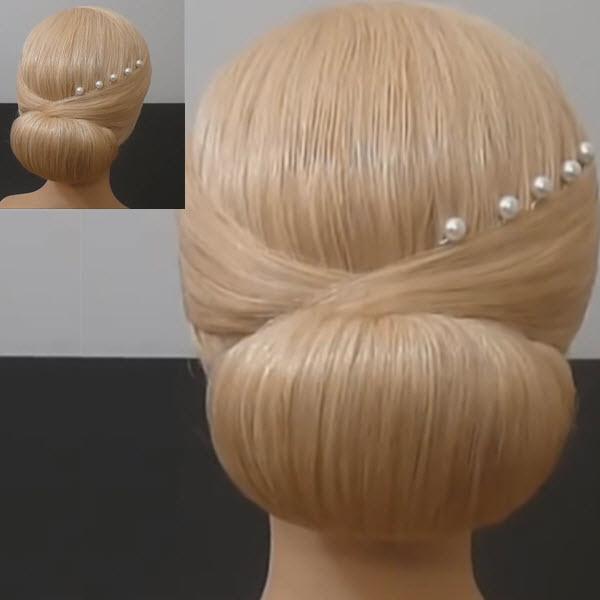 7 вариантов как сделать красивый пучок из волос для волос ...