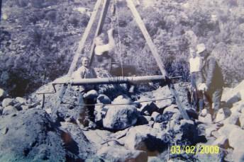 Fra utgravingen av gravhaugene på Stallemo.