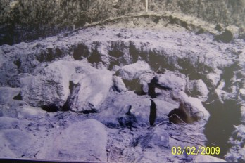 Åpnet grav - utgravingene av gravhaugene på Stallemo (?)