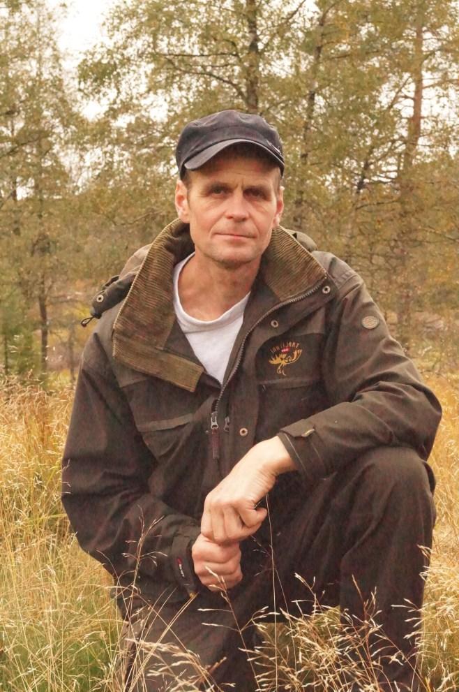 Jon Sangesland som var lommekjent i området og derfor naturlig turlos for oss.