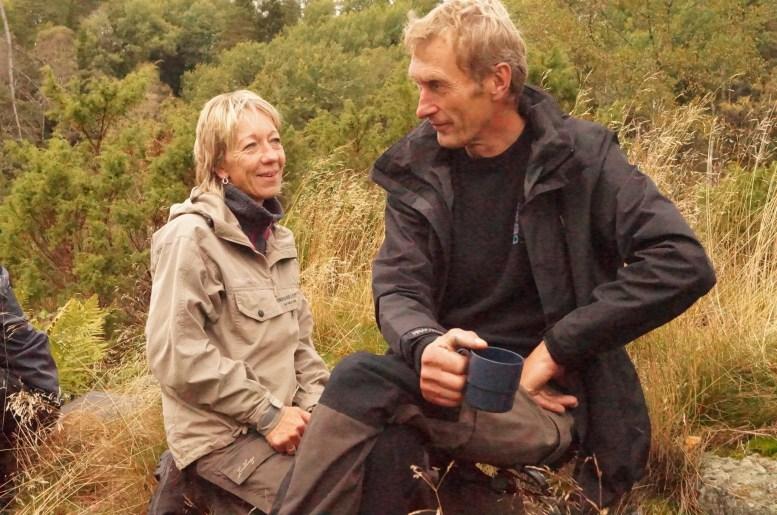 Anne Britt og Kjell Greibesland.