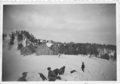 Snøvinteren 1937 på Hessvoll.