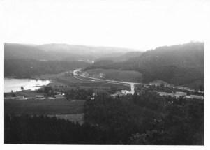 Utsikt fra gården Fjellet.