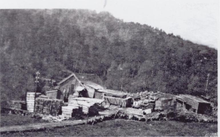 Den gamle saga på Mølla, sto i nærheten av Mølla gamle skole. Ble revet da Oddlaeiv Langeland bygde nytt hus.