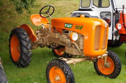 En fin liten traktor, flott restaurert: Fiat 211 R