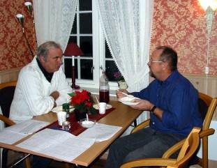 Ole Trygve Almedal og Kjell Normann Koland
