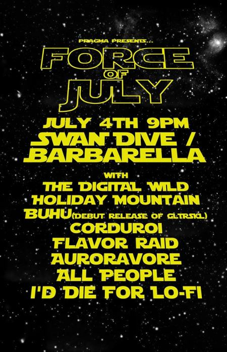 Force of July BUHU Swan Dive
