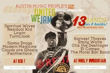 United We Jam Austin Music People