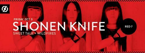Shonen Knife Red 7
