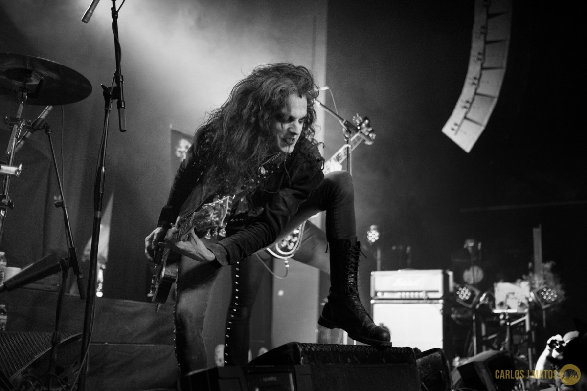 Photos from Tribulation and Ghost live at Emo's in Austin, TX on 4-25-16.