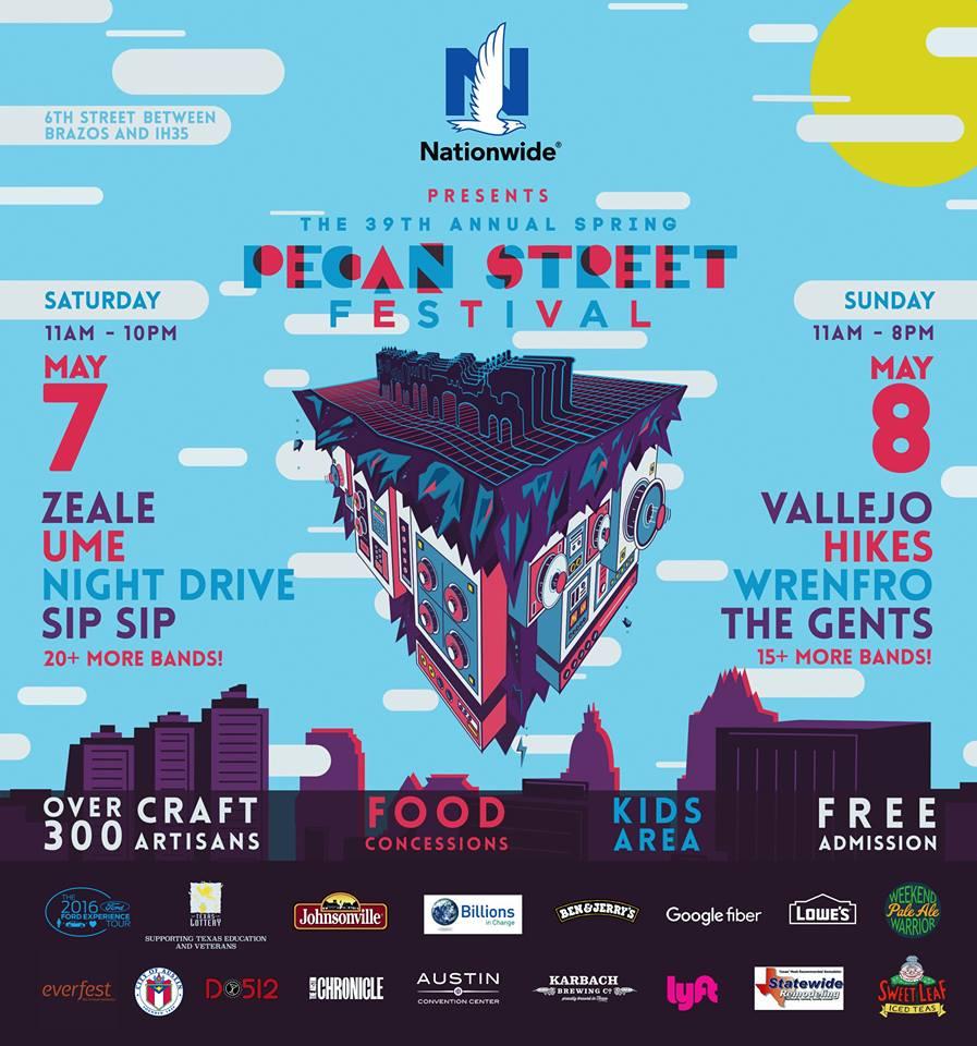 Pecan Street Festival 2016