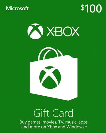 $100 Xbox Gift Card