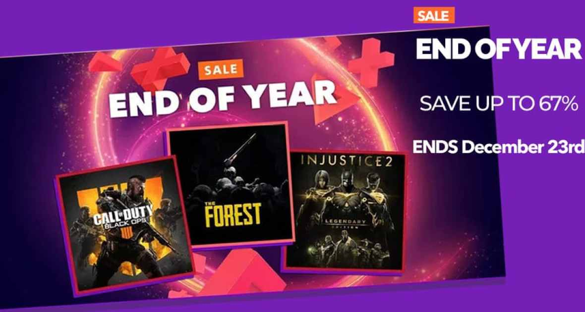 PSN End of Year Sale | 2019