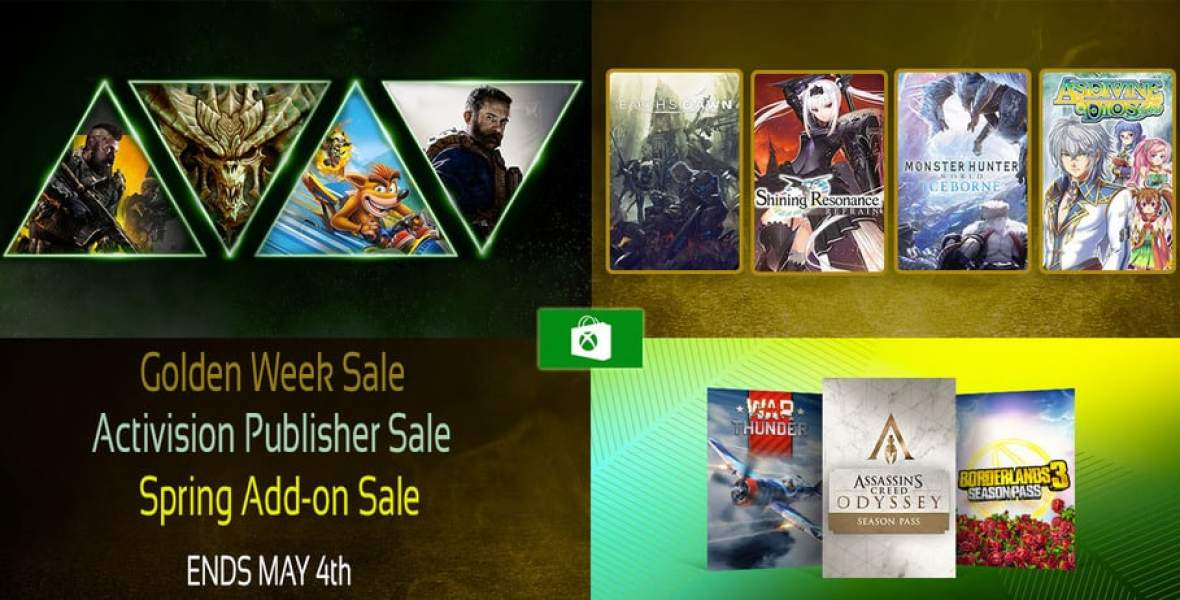 Xbox Store Gold Week Sale