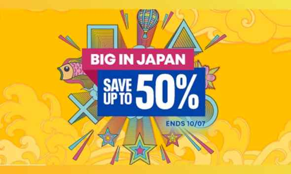 PlayStation Store Sale: Big in Japan | Ends Oct. 11th