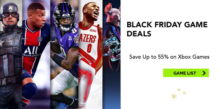 Xbox Black Friday Deals - Game List - Ovrok Gaming
