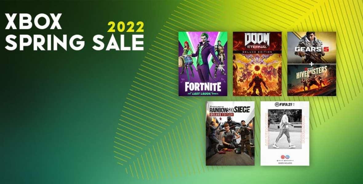 Xbox Spring Sale 2022 - OVROK